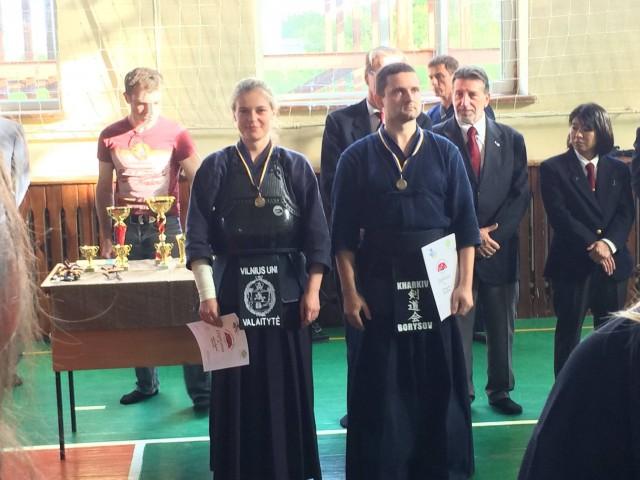 Trečios vietos nugalėtojai Kyu  rungtyje